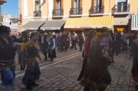 baile caldereros plaza consistorial
