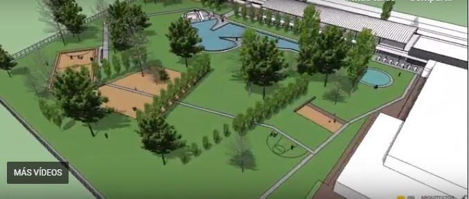 Presentan el proyecto del nuevo polideportivo de Tudela
