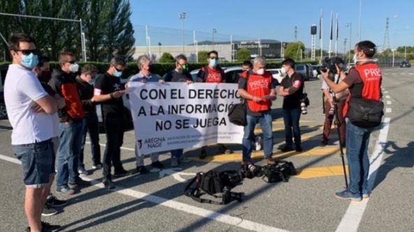 Los informadores gráficos reivindican su derecho a informar frente a LaLiga y el Consejo Superior de Deportes