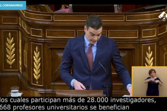 Sánchez Congreso
