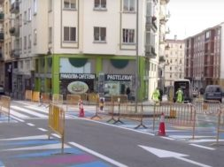 Obras en Pamplona