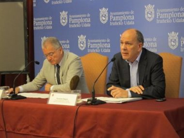 Juan José Echeverría y Fernando Nagore.